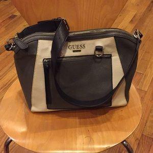 GUESS Leather Shoulder Bag
